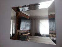 Glass mirror 90cm x 70cm