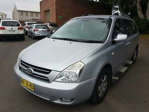 2007 Kia Grand Carnival VQ (EX) Silver 5 Speed Automatic Wagon Georgetown Newcastle Area Preview