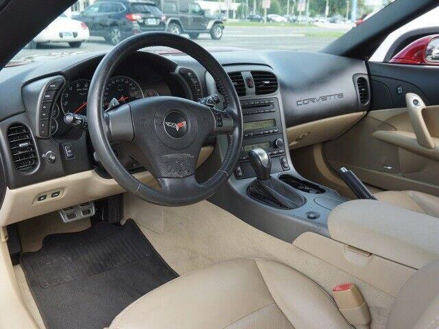 2007 Red Chevrolet Corvette Convertible  | C6 Corvette Photo 4