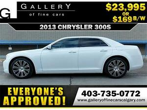2013 Chrysler 300S $169 bi-weekly APPLY NOW DRIVE NOW