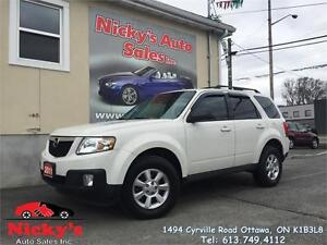 2011 Mazda Tribute GT 4WD, LEATHER, SUNROOF, BACKUP CAM, DVD!