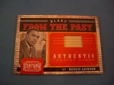 2010 Panini Century Blast From The Past Bats Reggie Jackson 1 136/250 2010 Baseball Bats