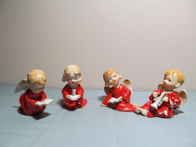 Christmas Angels Lipper and Mann Full  Set RARE