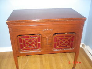 Antique Radio Phoograph Cabinet