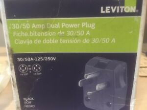 leviton 275-t power plug  pour vehicul recreatif 50 amp