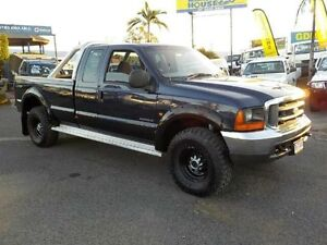 2002 Ford F250 XLT Super Cab Blue 4 Speed Automatic Utility Coopers Plains Brisbane South West Preview