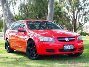 2009 Holden Commodore VE MY09.5 Omega Sportwagon Red 4 Speed Automatic Wagon Myaree Melville Area Preview