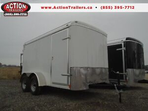 2017 6x12 TANDEM ATLAS - PERFECT CONTRACTORS TRAILER - SAVE $$!