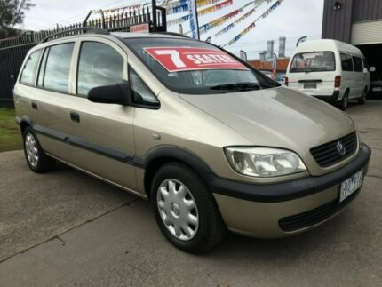 2004 Holden Zafira TT 4 Speed Automatic Wagon
