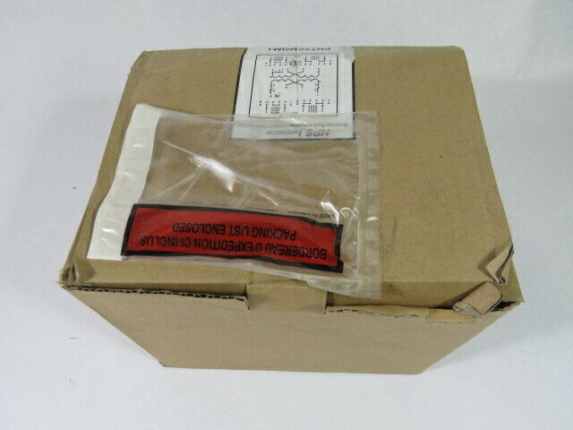 Hammond PH750MQMJ Transformer 750VA Pri 240/480V Sec 120/240V 50/60HZ  NEW
