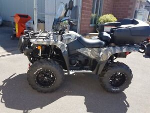 2018 Suzuki King Quad FREE Warranty, FREE Winch, FREE Gas