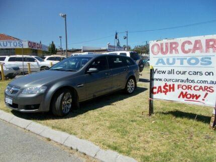 2011 Holden Commodore INTERNATIONAL VE SERIES II Grey 6 Speed Automatic Sportswagon Maddington Gosnells Area Preview