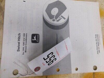 John Deere Swivel Hitch Operators Manual Tag 955