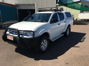 2015 Mitsubishi Triton MQ MY16 GLX (4x4) White 5 Speed Automatic Dual Cab Chassis Berrimah Darwin City Preview