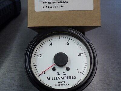 Hoyt 250-30 Analog Meter 0-1 Madc Input