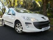 2008 Peugeot 308 XS White 4 Speed Automatic Hatchback Manningham Port Adelaide Area Preview