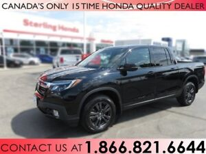 2017 Honda Ridgeline SPORT 4x4 CREW CAB | ALL WEATHER MATS | HIT