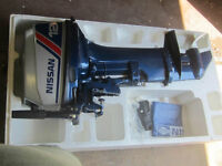NEW! Nissan 12 HP Outboard