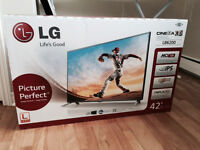 LG 42 Inch 3D TV - BRAND NEW - in the box!!!