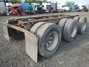 Tridem Axle Trailer Suspension Assembly