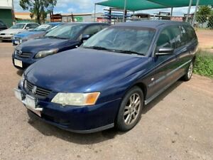 2003 Holden Commodore VY II Executive Blue 4 Speed Automatic Wagon