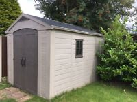 Shed 8 x 11.5 in plastic, Keter brand rrp 850