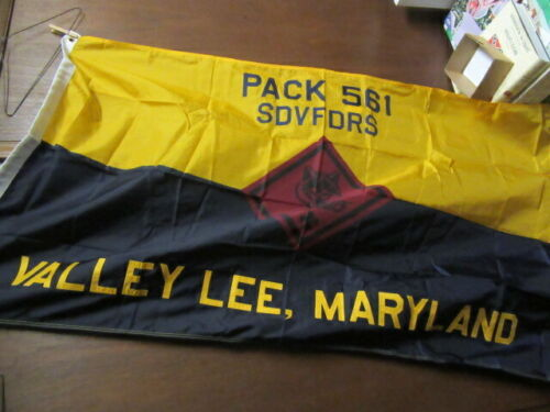 Cub Scout Pack Flag, Valley Lee, Maryland   3 by 5 feet     EB25
