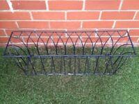Window box or terrace plant holder
