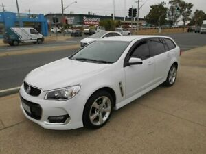 2016 Holden Commodore VF II MY16 SV6 Sportwagon White 6 Speed Sports Automatic Wagon Fyshwick South Canberra Preview