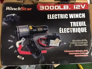 New 12v 3000lb electric winch