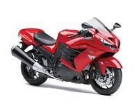Brand New 2013 Kawasaki ZX14 for the price of Used!