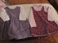 Girl's Size 24 month Winter Dresses