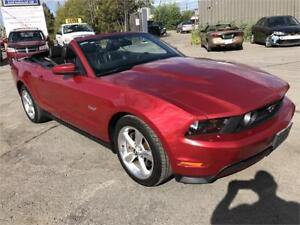 2011FORD MUSTANG GT CONVERTIBLE MANUELLE GAR 1 AN FINANCEMENT