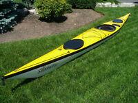 Nigel Foster Silhouette Fibreglass Sea/Touring Kayak - Reduced!