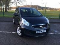 Kia Venga 1.4TD 1 Air 2014 64 PLATE *WITH ONLY 18K MILES, £30 A YR TAX*