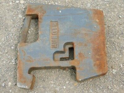 Kubota 100 Lb. Suitcase Weight Tag 437