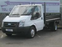 Ford Transit 2.4TDCi[100PS] BRAND NEW 10'6 STEEL TIPPER BODY DIESEL 2008/58