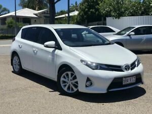2014 Toyota Corolla ZRE182R Ascent Sport S-CVT White 7 Speed Constant Variable Hatchback Chermside Brisbane North East Preview