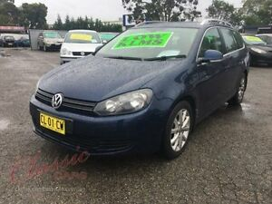 2011 Volkswagen Golf 1K MY11 118 TSI Comfortline Blue 7 Speed Automatic Wagon Lansvale Liverpool Area Preview