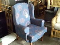 Brand new fire side chair