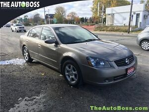 2005 Nissan Altima 2.5 SL CERTIFIED! LEATHER! ROOF! HEATED SEATS