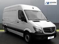 2014 Mercedes-Benz Sprinter 313 CDI LWB Diesel white Manual