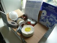 CLEANING AND POLISHING KIT FOR METALS including Abrasives