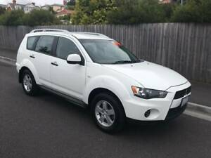 2009 MITSUBISHI OUTLANDER 4X4 (FOUR CYLINDER AUTO) North Hobart Hobart City Preview