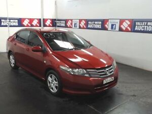2008 Honda City GM VTi Burgundy 5 Speed Manual Sedan Cardiff Lake Macquarie Area Preview