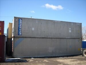 40' HC insulated shipping container