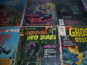 horror comic books.