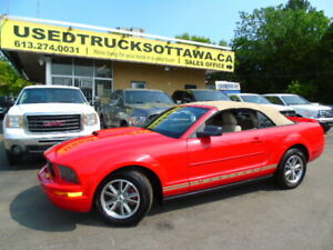 2007  Ford Mustang Convertible Automatic Low KM!!!