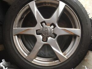 OEM Audi Wheels, in great condition - 225/50/17