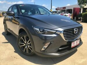 2015 Mazda CX-3 DK2W7A sTouring SKYACTIV-Drive Grey 6 Speed Sports Automatic Wagon Garbutt Townsville City Preview